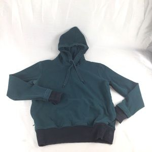 UNDER ARMOUR Green /Black Hoodie Size S